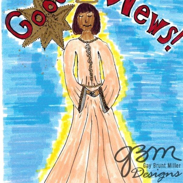 Angel Proclamation Christmas cards